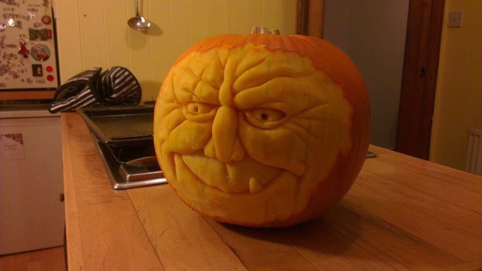Pumpkin 2013 left