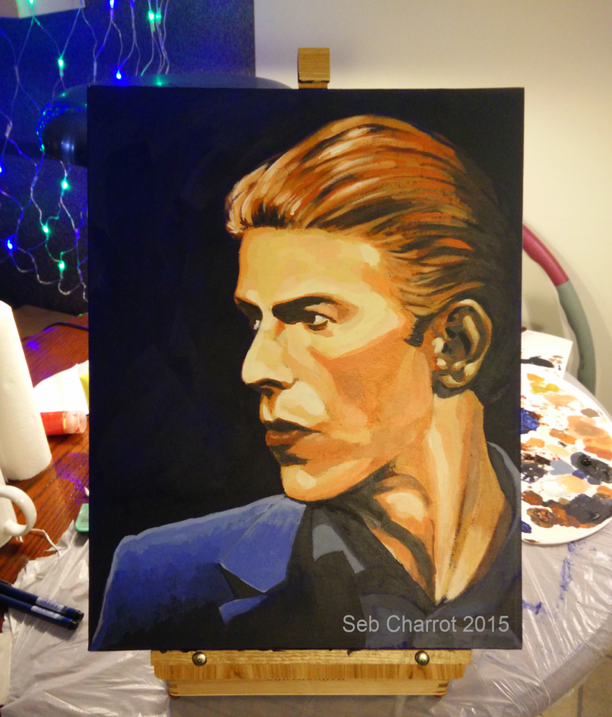 Bowie - by Seb Charrot, 2015