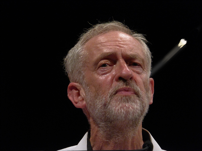 Dental Flaws: Jeremy Corbyn loses tooth. Photo courtesy Steve Eason 2015